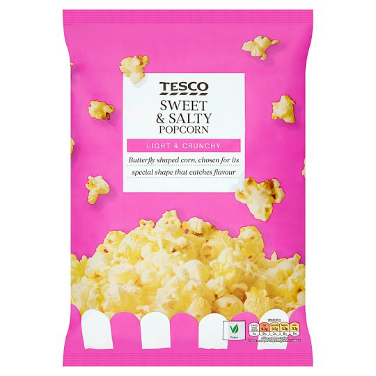Tesco Sweet And Salted Popcorn 110 G