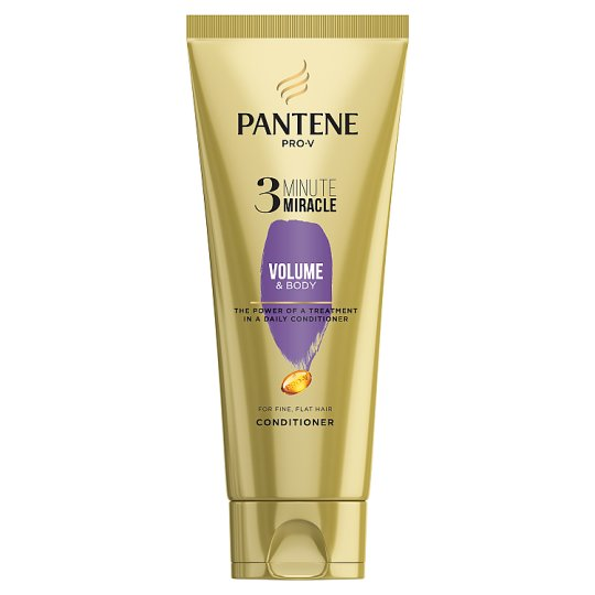 image 1 of Pantene Volume 3 Minute Miracle Conditioner 200Ml