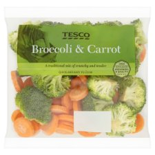image 1 of Tesco Carrot And Broccoli 400G