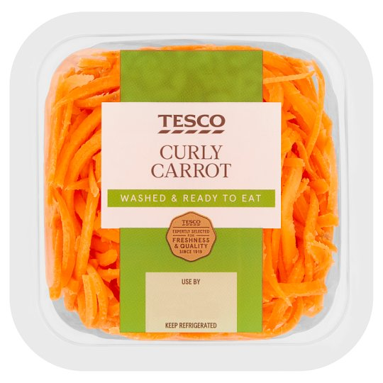image 1 of Tesco Curly Carrot 250G
