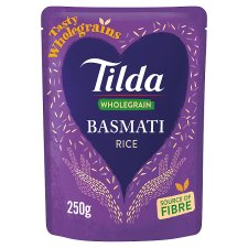 Tilda Brown Steamed Basmati Rice Classic 250G