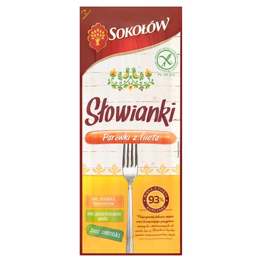 Sokolow Chicken Fillets Hotdog 170G