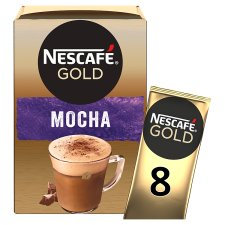 Nescafe Gold Mocha Coffee 8 X 22G