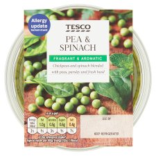 Tesco Pea And Spinach Dip 182G
