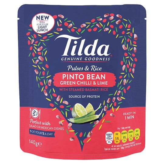 image 1 of Tilda Pulses And Rice Pinto Bean 140G