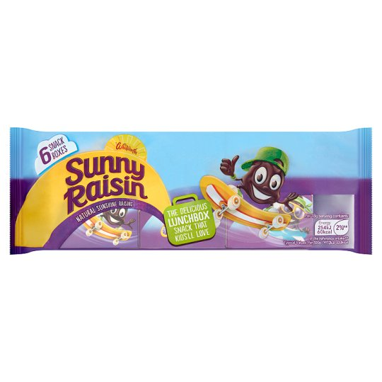 Whitworths Sunny Raisin 6X42.5G