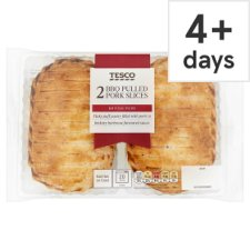 Tesco 2 Pulled Pork Slices 300G