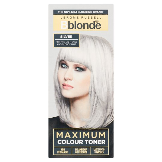 Jerome Russell Bblonde Silver Toner 75Ml - Tesco Groceries