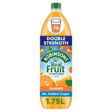 Robinsons Double Concentrate No Added Sugar Orange Squash 1.75L