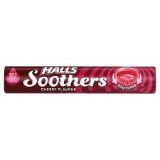 Halls Soothers Cherry 10'S