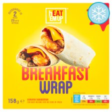 Heat Em Up Breakfast Wrap 158G