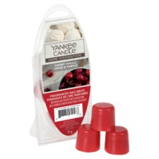 Yankee 6 Wax Melts Cherry Vanilla