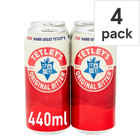 Tetleys Original Bitter 4X440ml