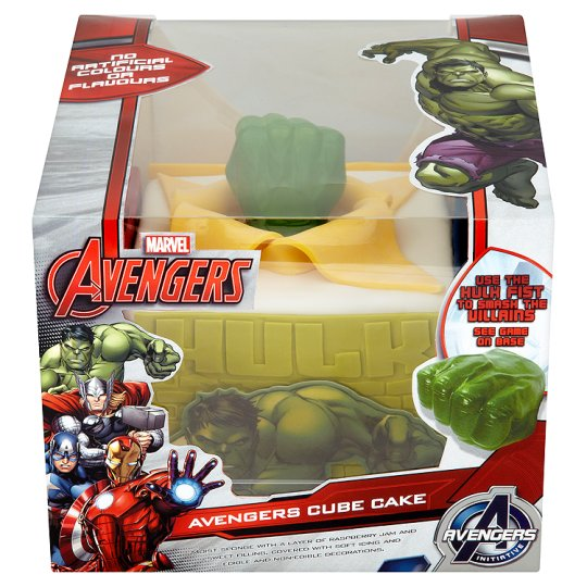 Cake Decorations In Asda : Avengers Xl Celebration Cake - Groceries - Tesco Groceries