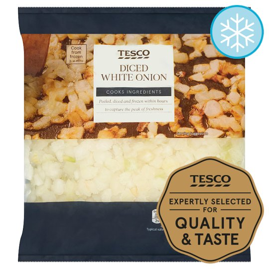 Tesco Diced Onions 500G