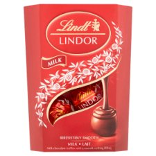 Lindt Lindor Milk Chocolate Truffles Carton 50G