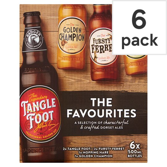 Badger Favourites 6X500ml