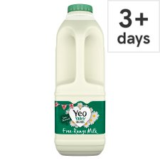 Yeo Valley Organic Semi Skimmed Milk 1 Litre