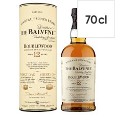 The Balvenie 12 Year Old Doublewood Single Malt Whisky 70Cl