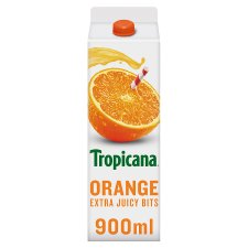 Tropicana Orange Extra Juicy Bits Juice 950 Ml