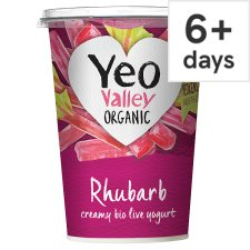 Yeo Valley Rhubarb Yogurt 450G