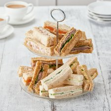 Tesco Easy Entertaining 20 Afternoon Tea Finger Sandwich Platter