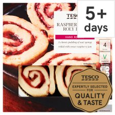 Tesco Raspberry Jam Roly Poly 460G