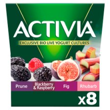 Activia Health Fruits Yogurt 8 X125g
