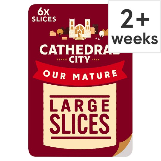 Cathedral City Mature Sliced Cheese 150 G