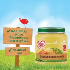 image 2 of Cow & Gate Chicken Sunday Lunch 4 Month+ 125G Jar