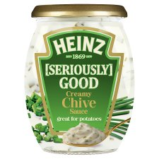 Heinz Seriously Good Creamy Chive Sauce 260G