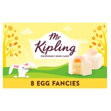 Mr Kipling Egg Fancies 8 Pack