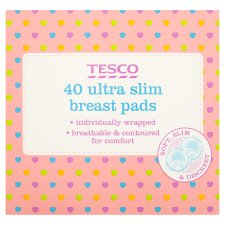 Tesco Ultra Slim Breast Pads X40