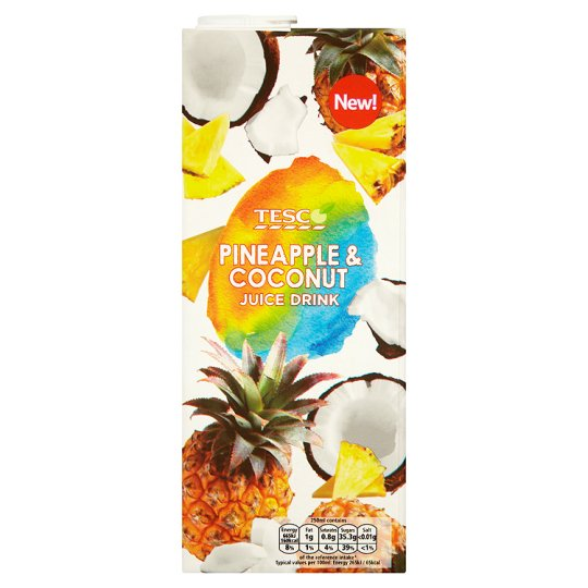 Tesco Pineapple And Coconut Juice Drink 1.5L