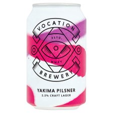 Vocation Brewery Yakima Pilsner 5.5% Alcohol By Volume 330Ml