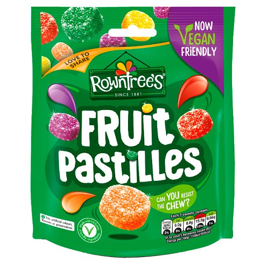 image 1 of Rowntrees Fruit Pastilles Pouch Bag 150G