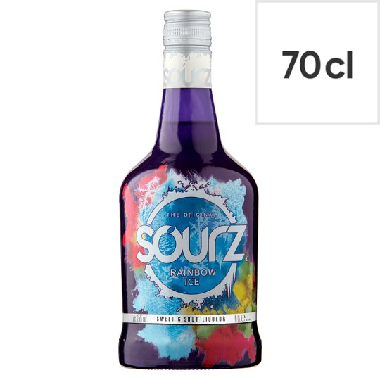 Sourz Rainbow Ice 70cl Groceries Tesco Groceries