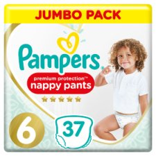 Pampers Premium Protection Pants S6 37Xjumbo Pack
