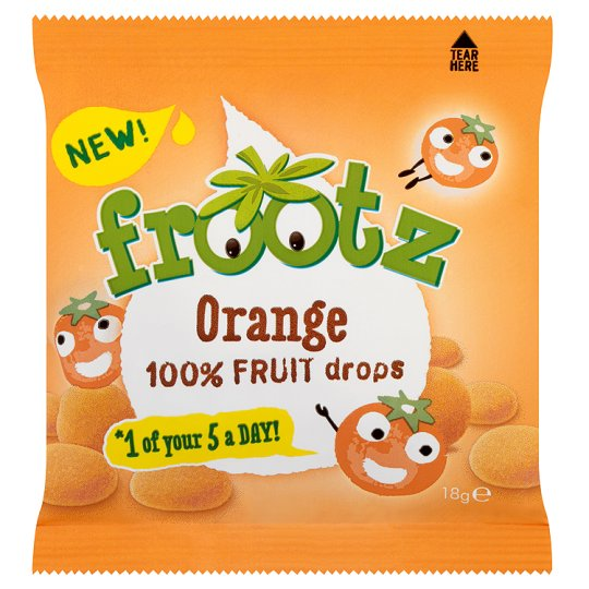 Frootz Orange Buttons 18G