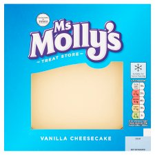 Ms Molly's Vanilla Cheesecake 474G