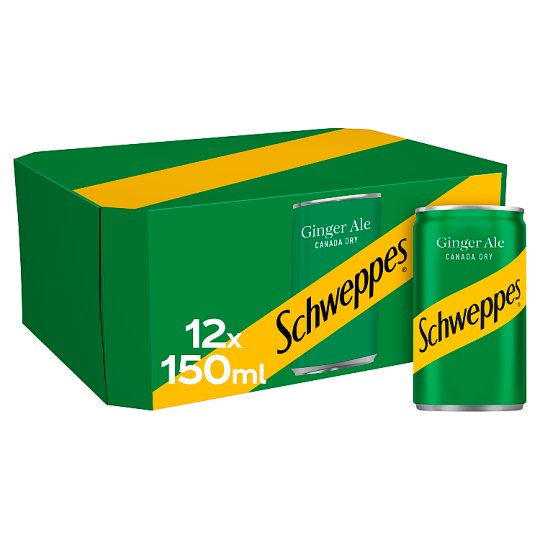 image 1 of Schweppes Canada Dry Ginger Ale Cans 12X150ml
