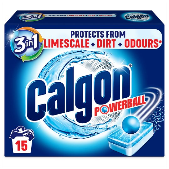 image 1 of Calgon 3 In 1 Limescale Protection Tablets 15 Washes