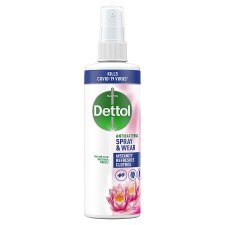 Dettol Spray And Wear Water Lily 250Ml