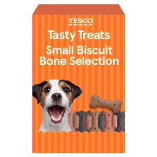 Tesco Small Bite Biscuit Bone Selection 800