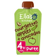 Ella's Kitchen Courgettes Apples Plus Avocados 120G