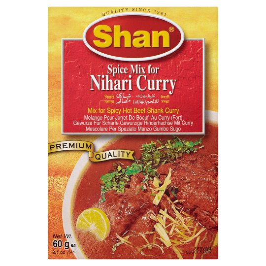 Shan Nihari Curry Mix 60G