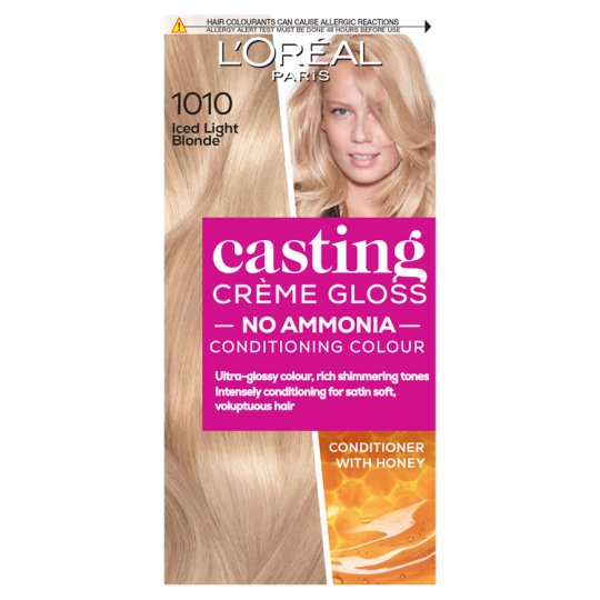 image 1 of L'oreal Casting Creme Gloss Light Iced Blonde 1010 Hair Dye