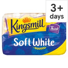 image 1 of Kingsmill Soft White Thick Bread 800G
