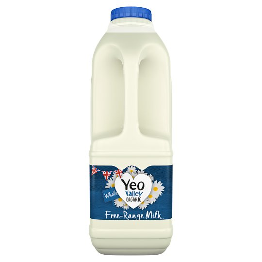 Yeo Valley Organic Whole Milk 1L