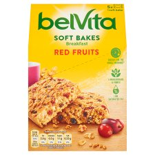 image 1 of Belvita Soft Bakes Red Berries 250G